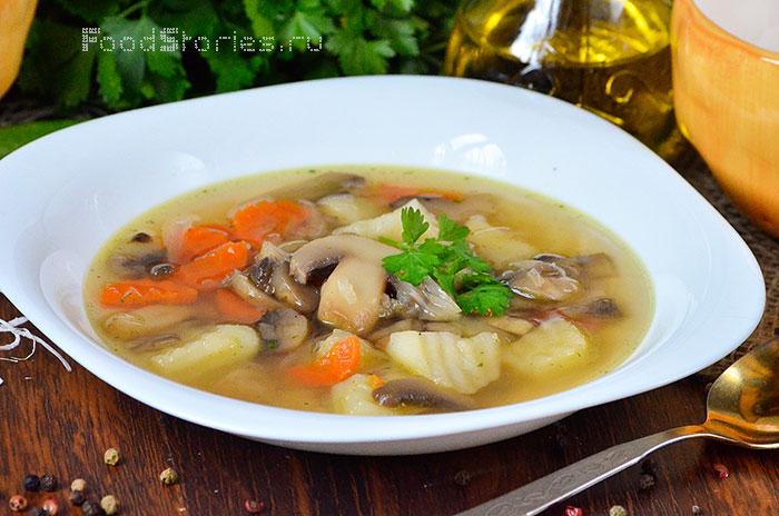 рецепты супа без зажарки